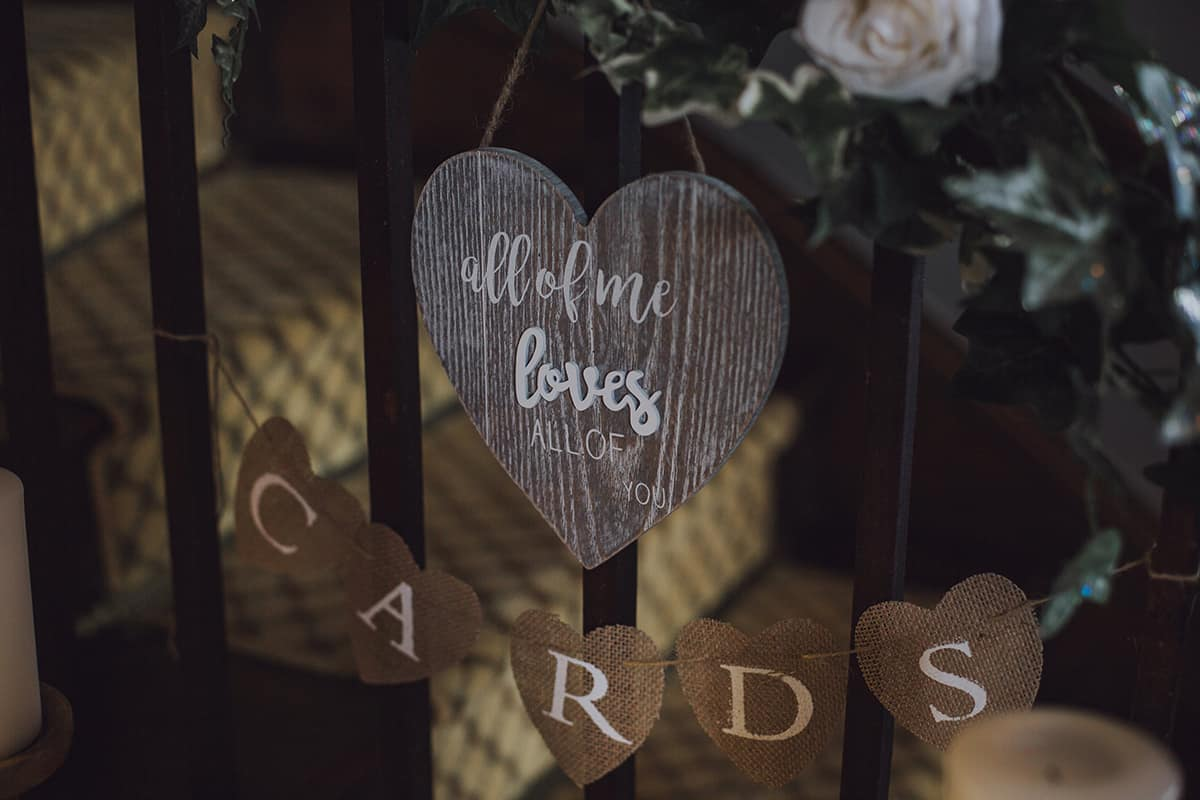 Glewstone court country house wedding photograph