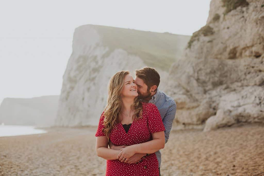 Durdle Door engagement session