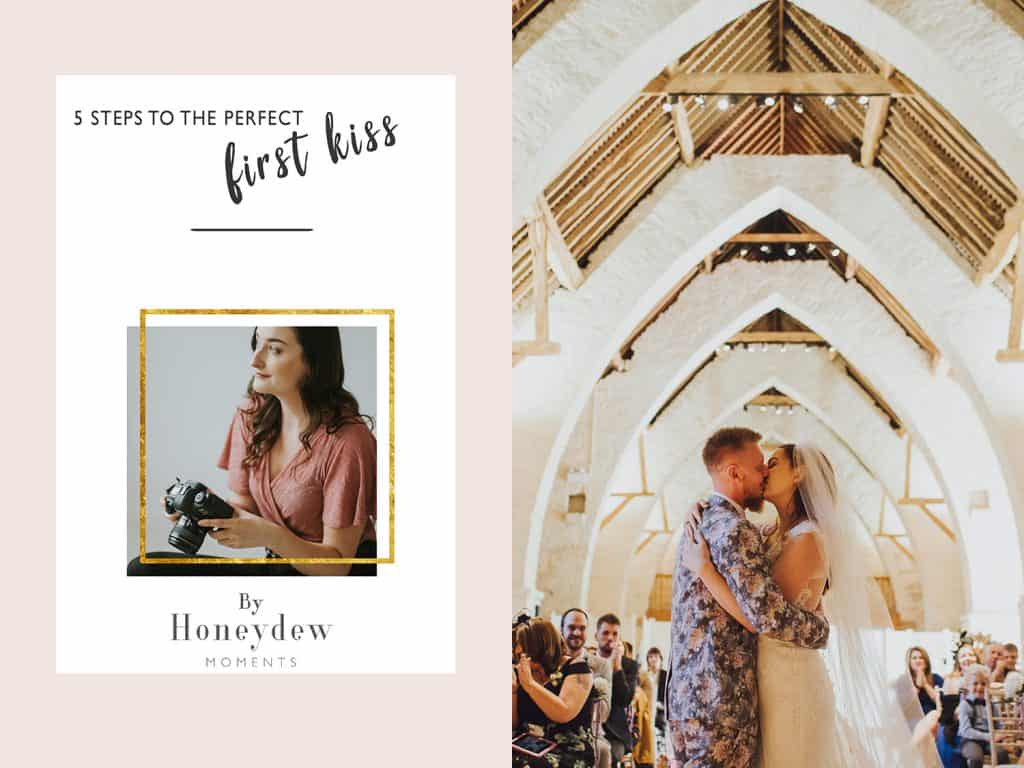5 steps to the perfect first kiss wedding photography tips