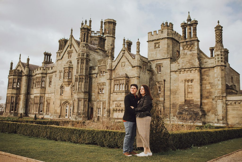 Margam Park engagement session by Honeydew Moments