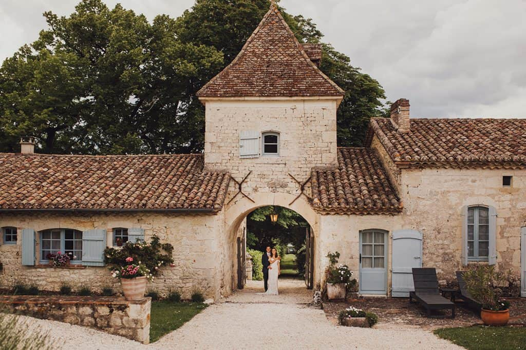 Manoir des sines wedding