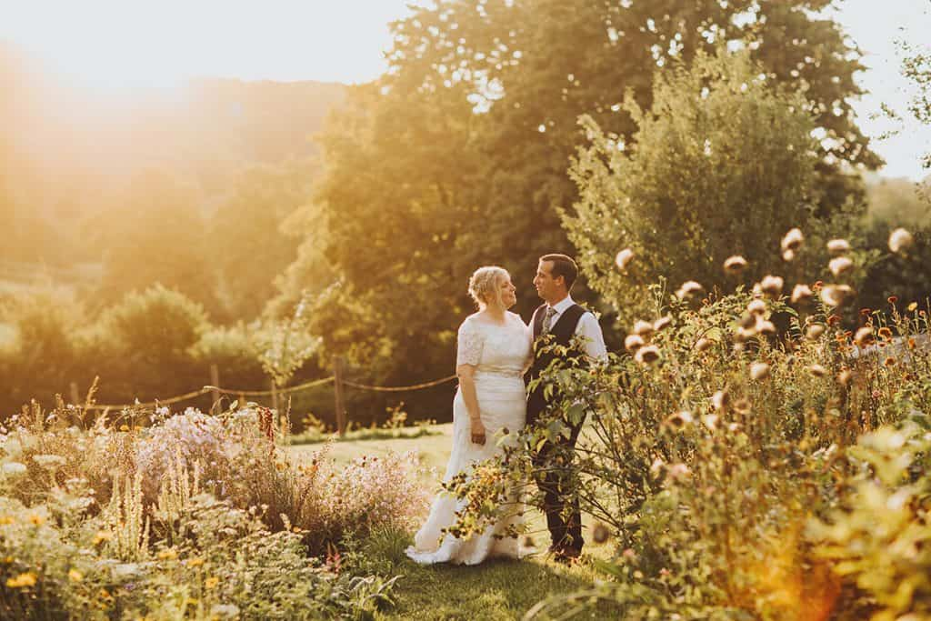 Gilbert White's Barn Wedding