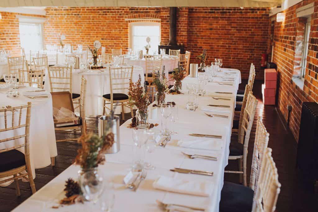 winter Sopley Mill wedding