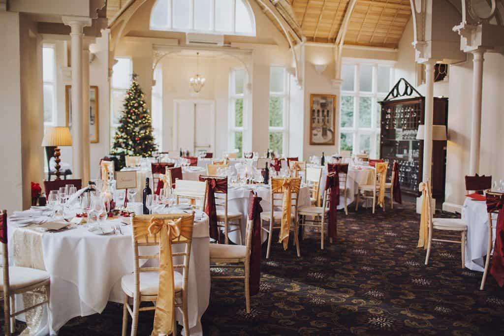 christmas wedding at audleys wood