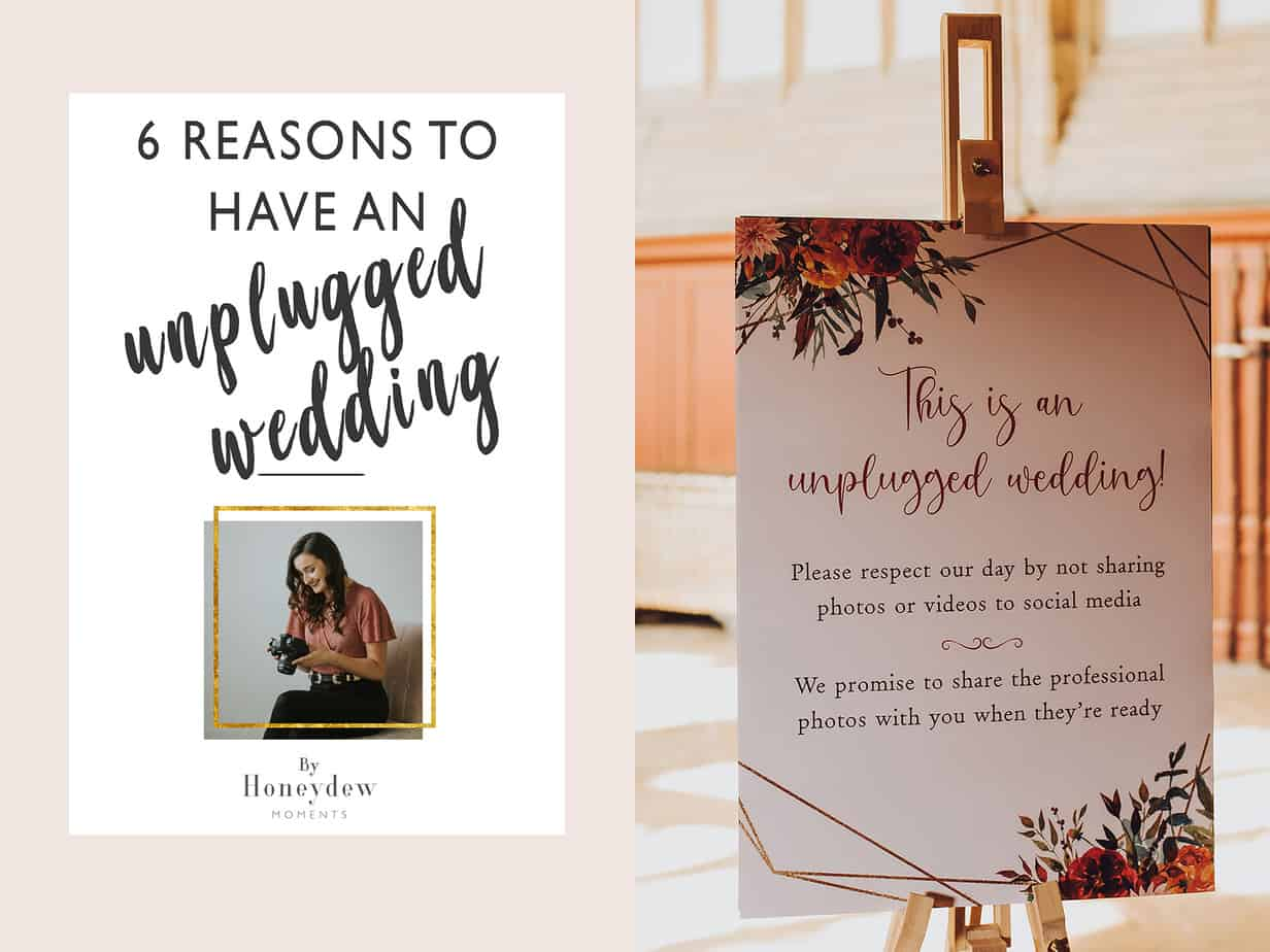 6 reasons to have an unplugged wedding ceremony