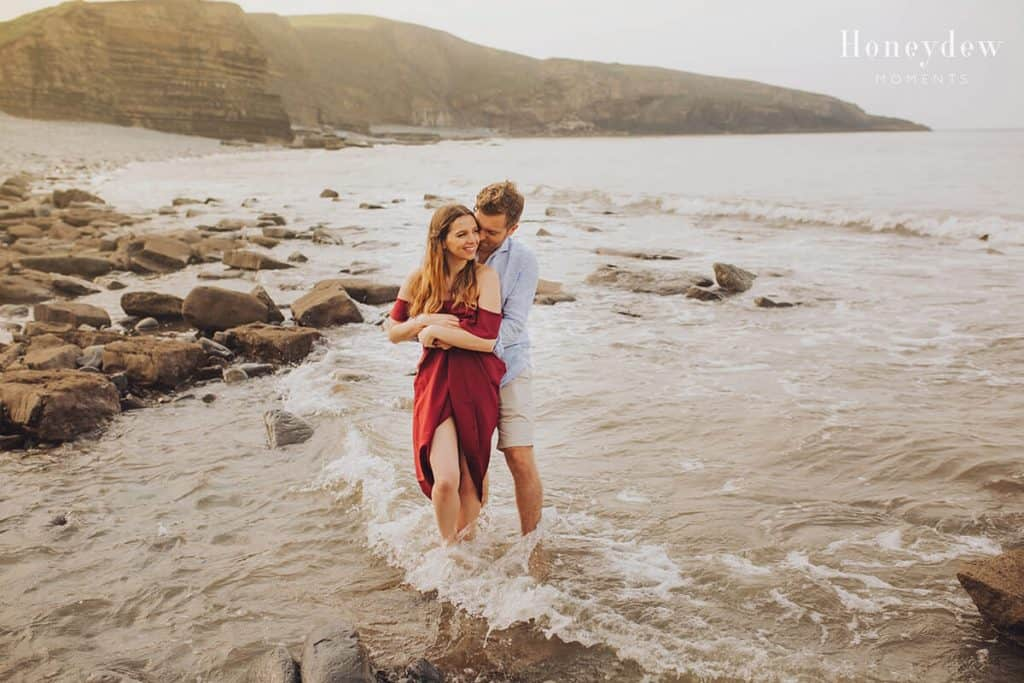 Southerndown Beach Engagement Session