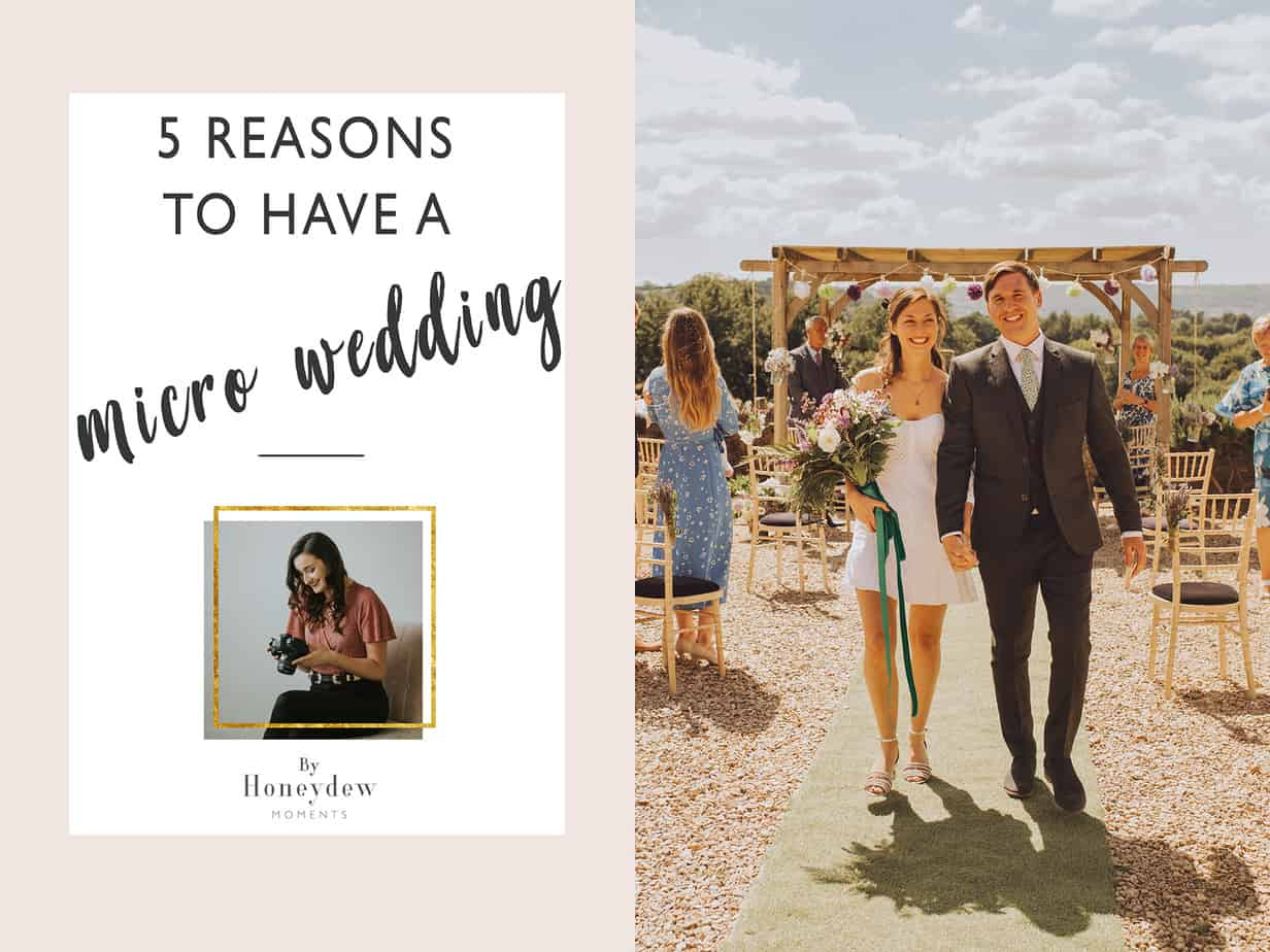 reasons to have a micro wedding