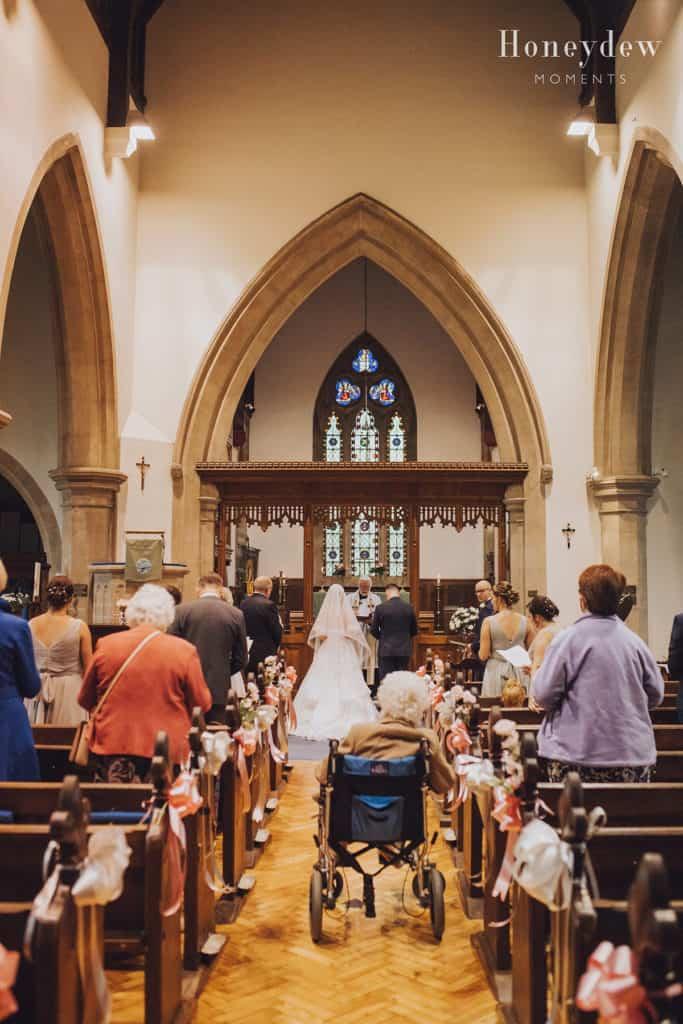 micro church wedding