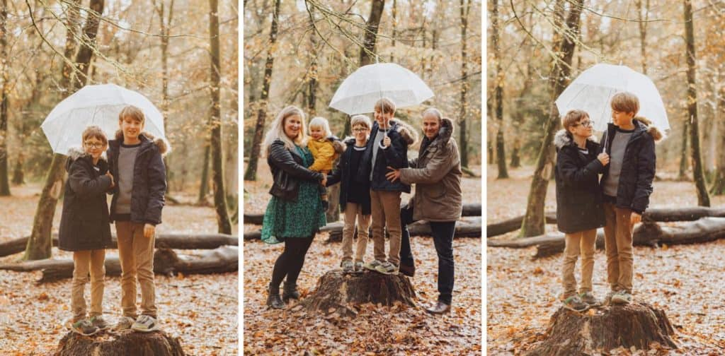 New forest family shoot