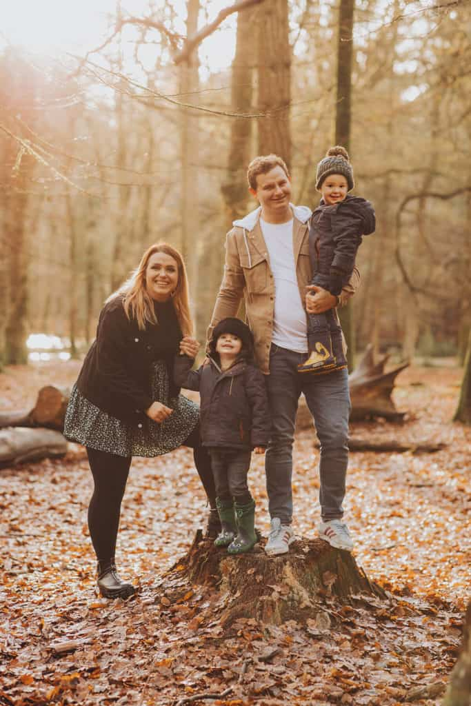 new forest family photoshoot