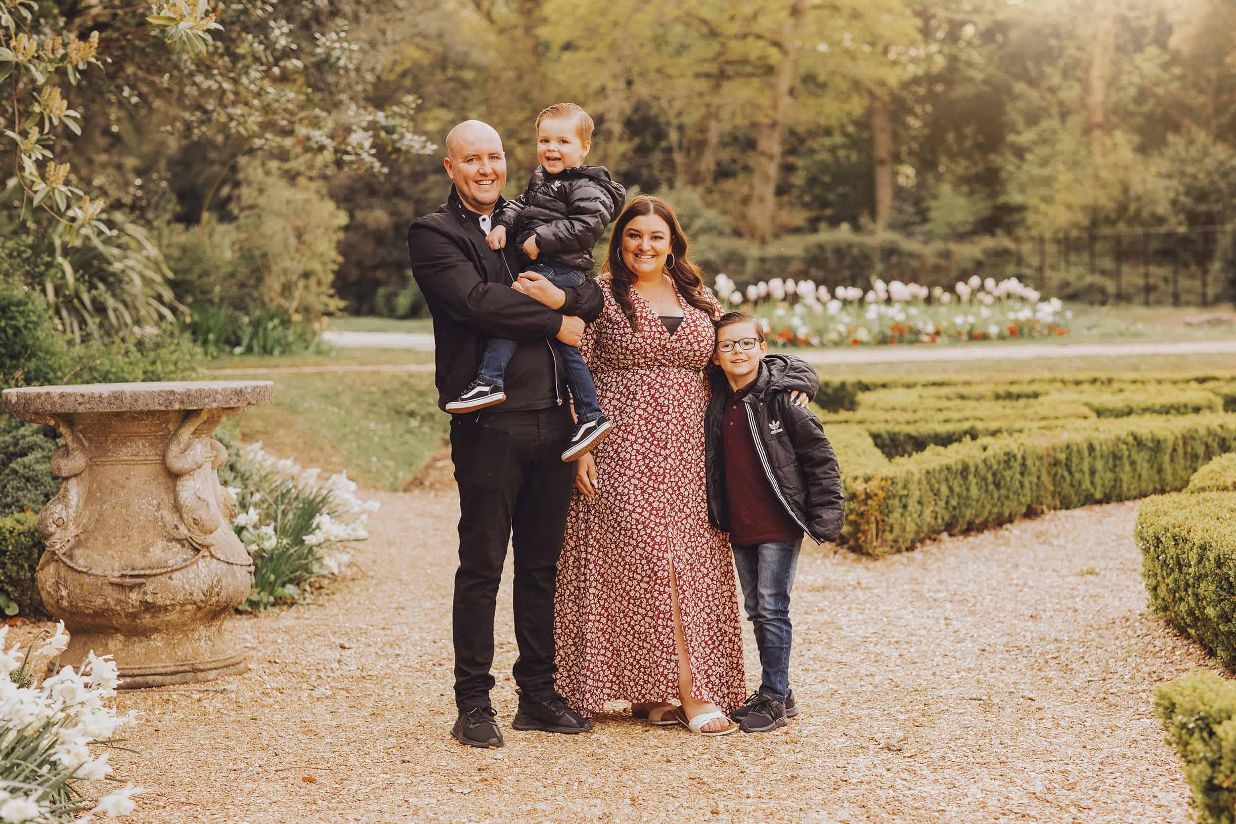 highcliffe castle family shoot